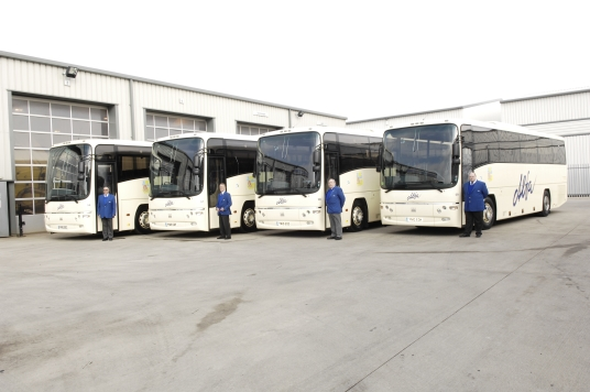 Alfa Travel New Coaches