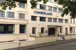 Picture showing Exterior of Cumberland Hotel Scarborough
