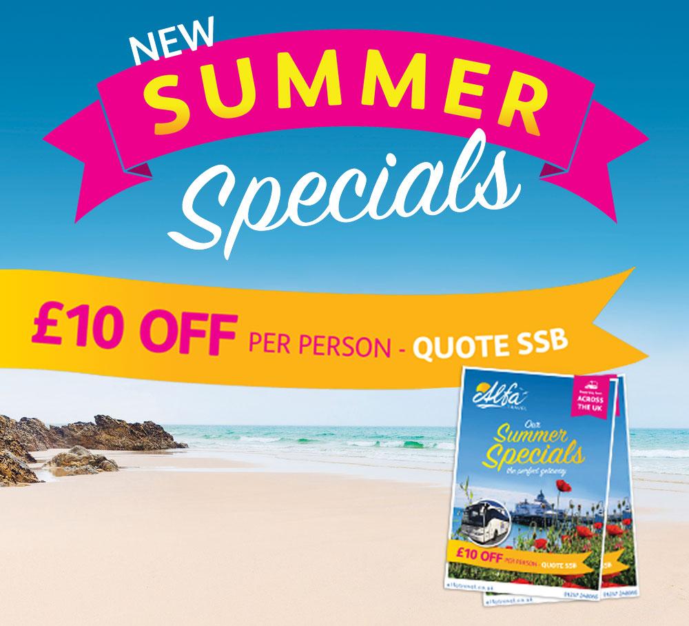 Summer Specials Brochure