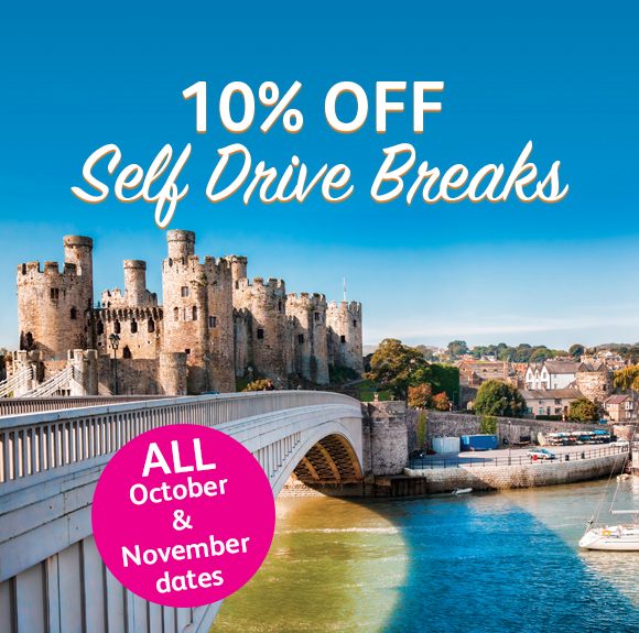 10% off Self Drive Breaks