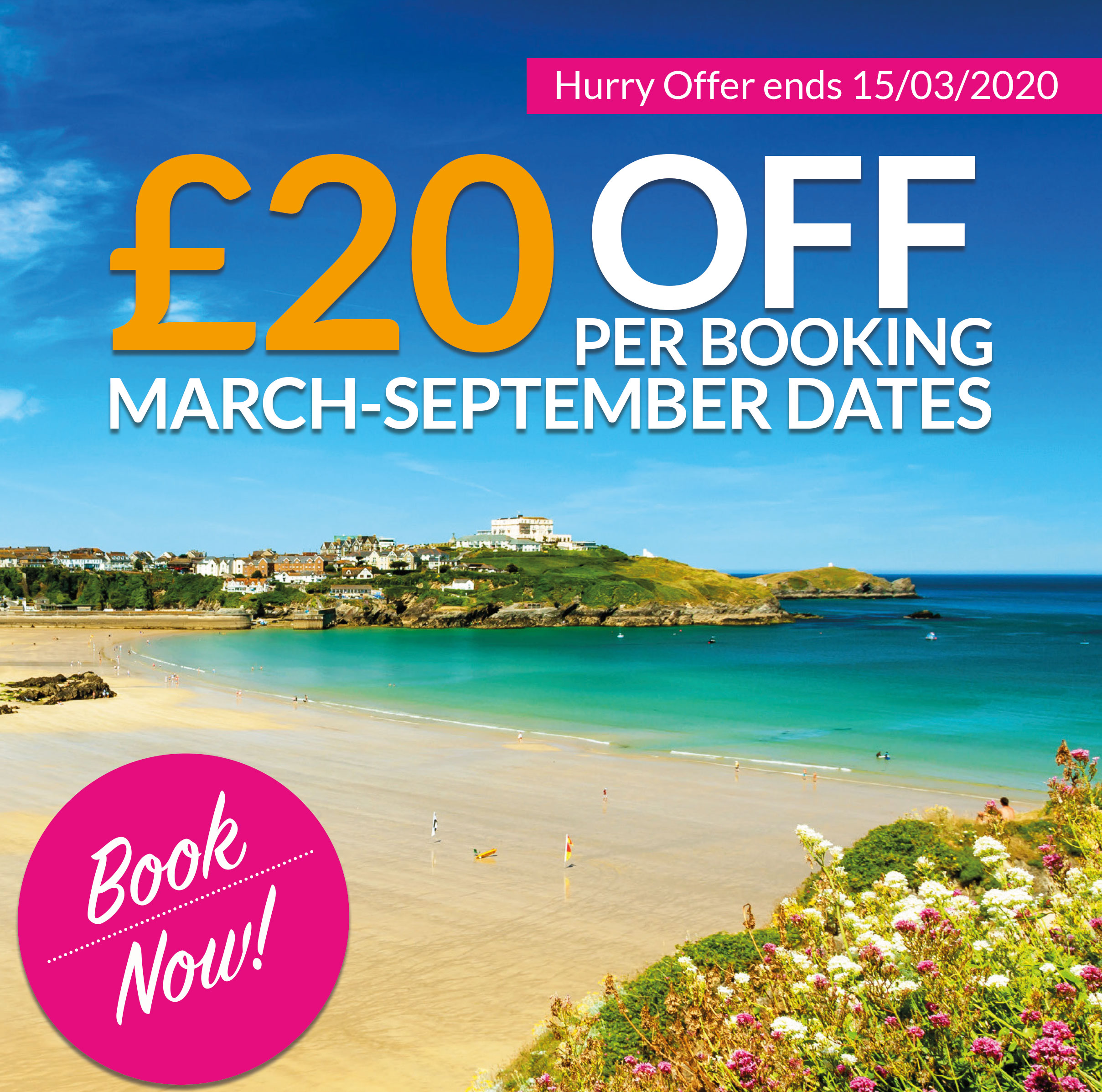 £20 off Spring & Summer Tours