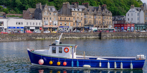 Coach Holidays to Oban