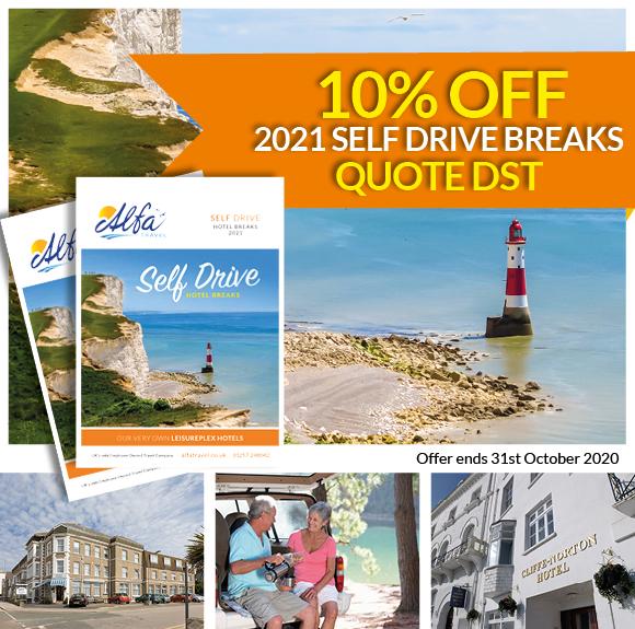 10% Off Self Drive Hotel Breaks