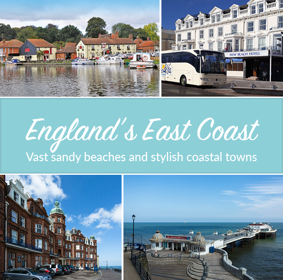 Be inspired by England's beautiful East Coast