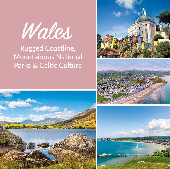 Experience the magic of Wales