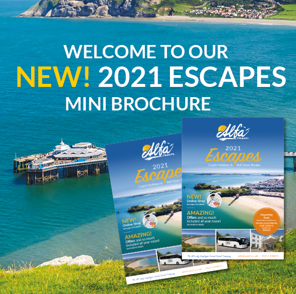 New Mini Escapes Brochure OUT NOW