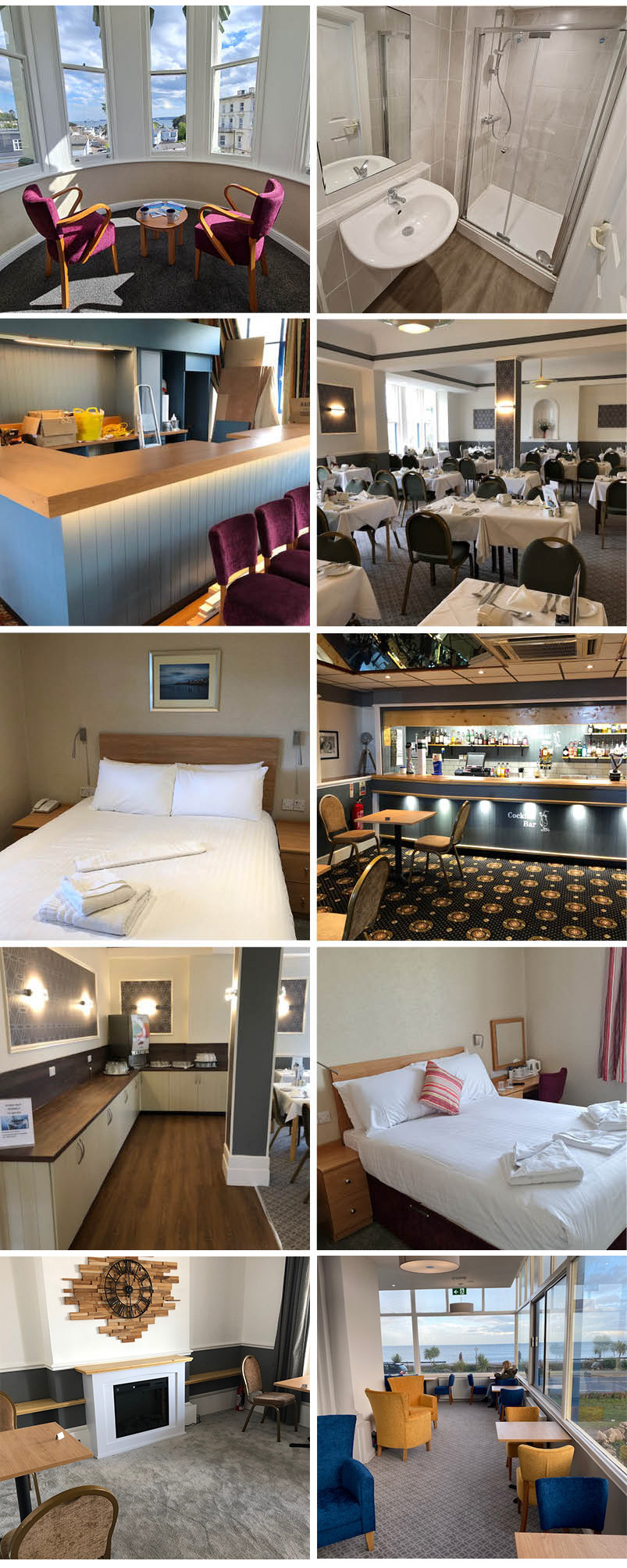 leisureplex refurbished uk seaside hotels