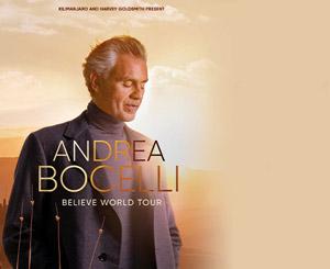 Andrea Bocelli 2022 Tour